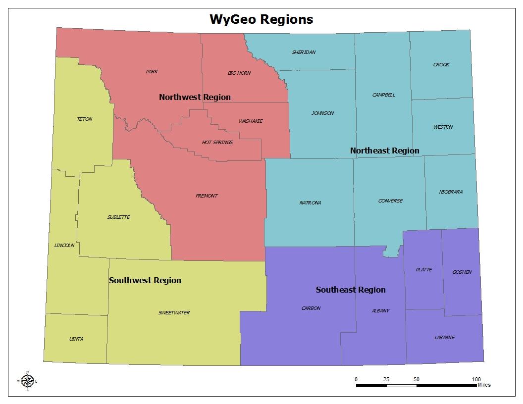 Wygeo regions